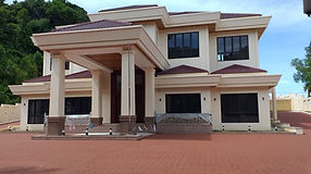 Streetprint and streetbond repavement by Omera Construction in Brunei