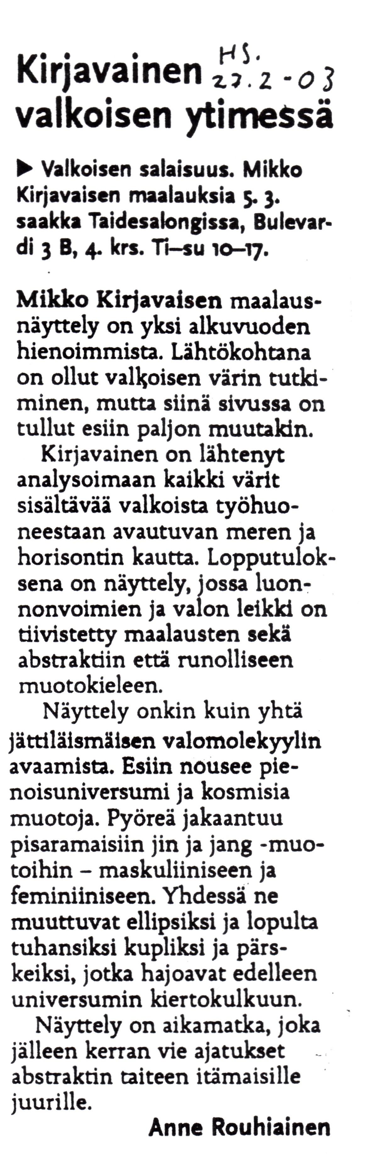 Helsingin Sanomat, Helsinki News