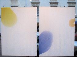 White Flow, diptych
