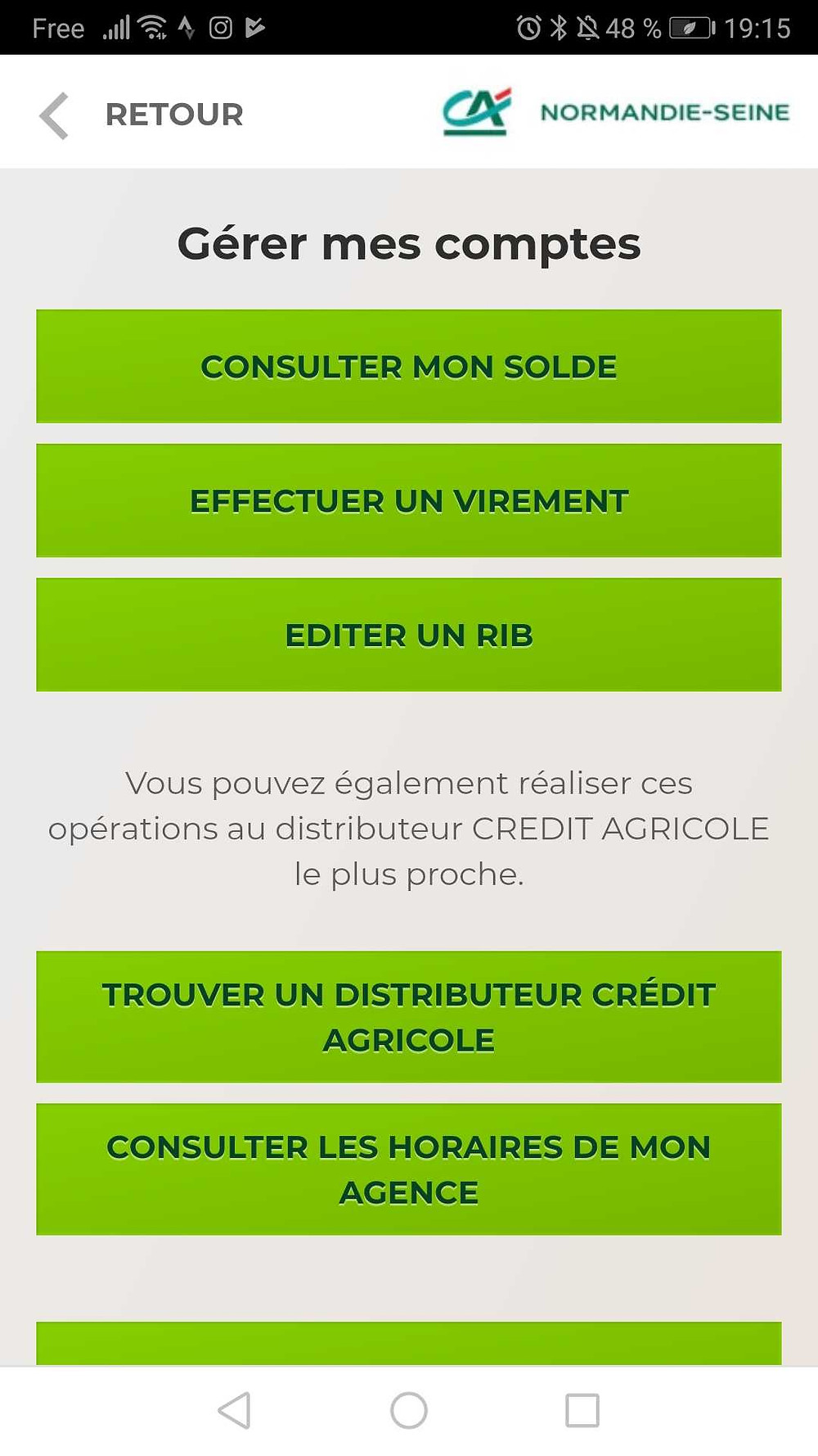Plateforme de contact du Crédit Agricole Normandie Seine