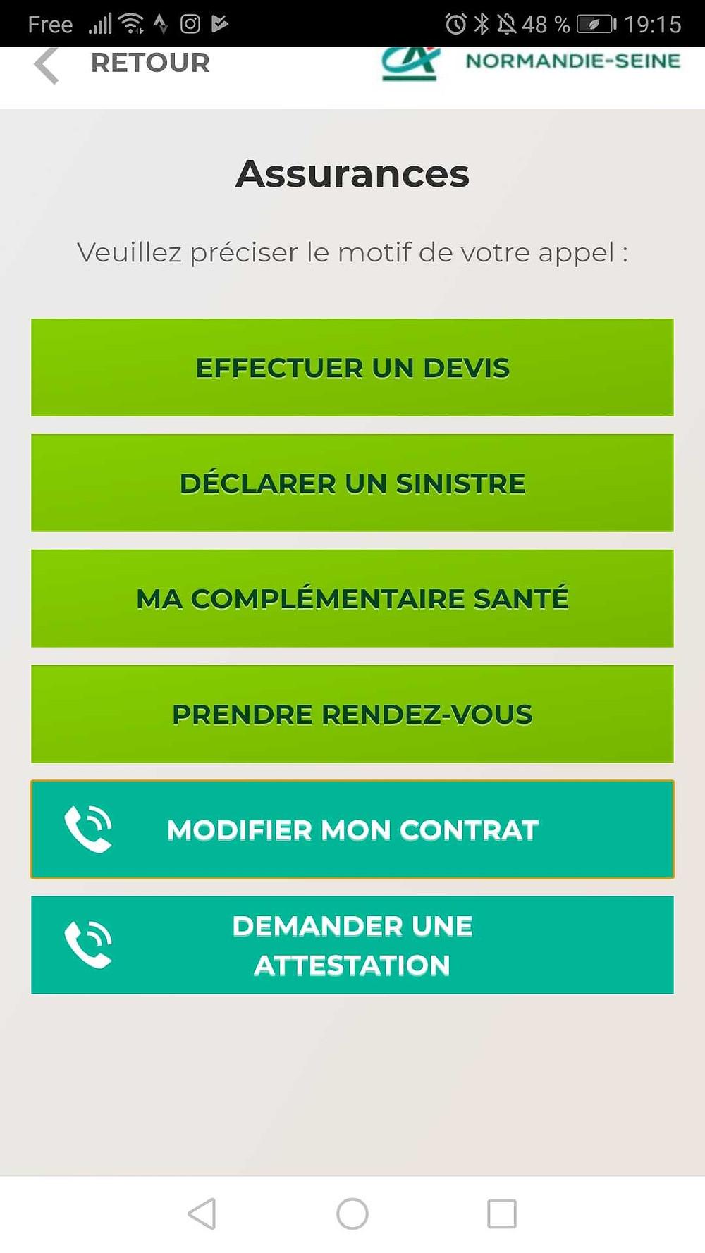 Plateforme de contact Crédit Agricole Normandie Seine