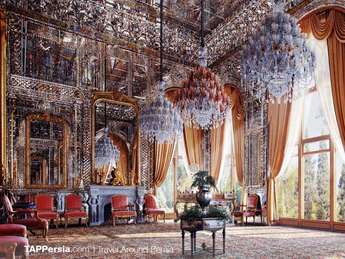 ira 4 - Palacio Golestan interior - Teer