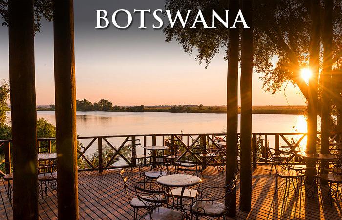 Restaurante Chobe-Botswana