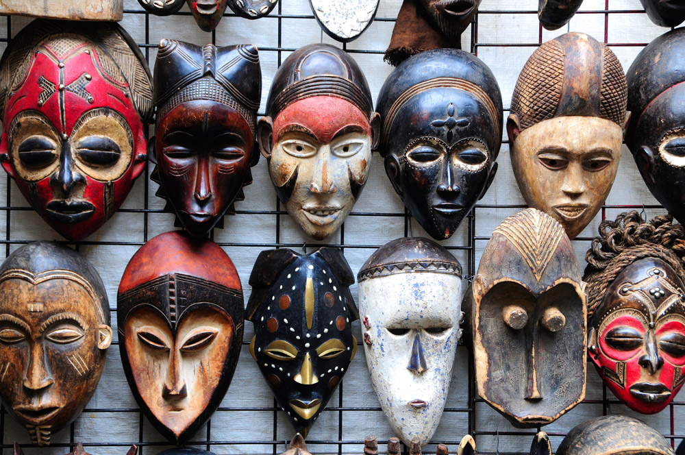 Máscaras típicas.