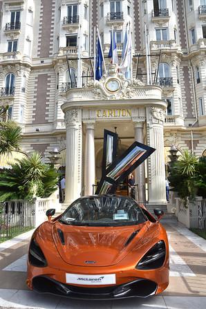 McLaren - Entrada do Hotel