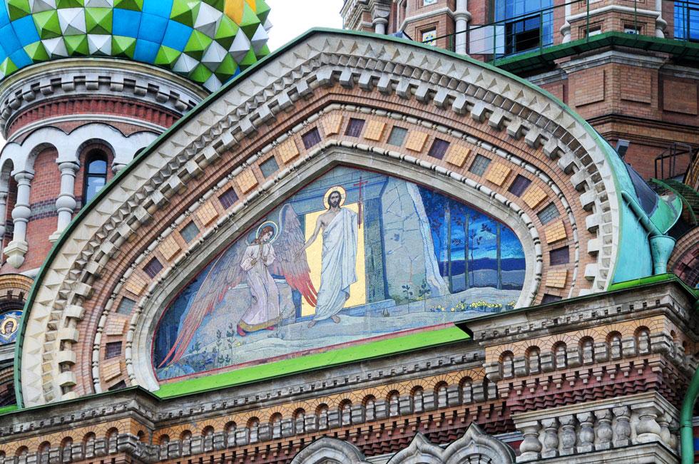 Igreja do Sangue Derramado-St Petersburgo