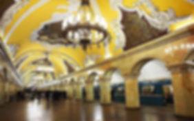 uzbequistao 5 - Estação de Metrô Tashken