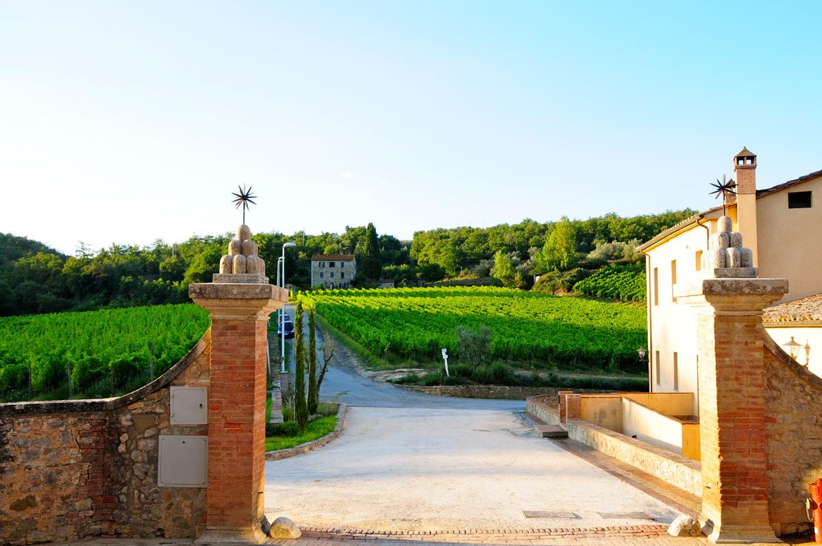 Hotel Castel Monastero-Siena