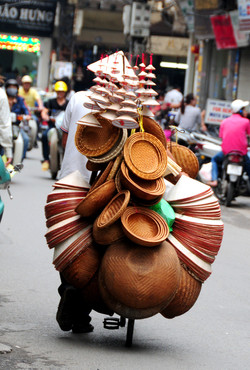 Hanoi-Vietnam-Cidade-Velha-Vietnamita-Ve