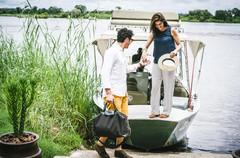O Hotel Anantara Royal Livingstone Victoria Falls está localizado a quinze minutos de barco-táxi das Cataratas Victoria Falls