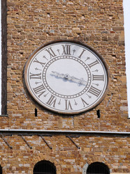 Palazzo Vecchio-Torre do Relógio-Florença