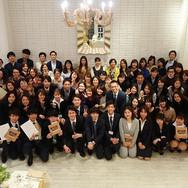 19卒の新入社員歓迎会を行いました⭐️ と、同時に18卒6名の新人卒業式🌸成長