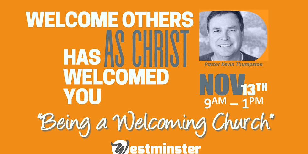 Being a Welcoming Church