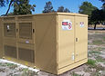 Clean Powdercoat Substation