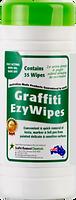 How to remove graffiti. Graffiti EzyWipes
