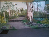 How to coat a wall. How to protect a wall with a coating. How to protect mural artwork on a wall with a coating.