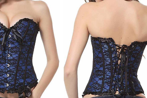 Corset  color azul  2Xl