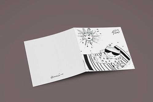 LIFE IS GOOD - Greeting Card