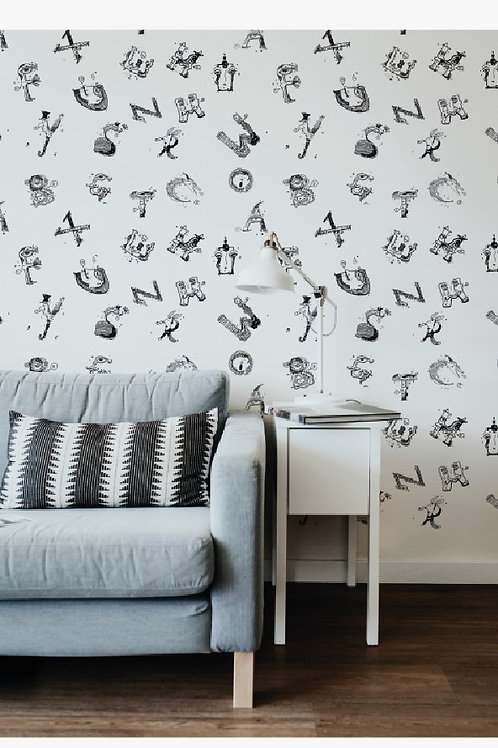 A TO Z Dreams Wall Paper