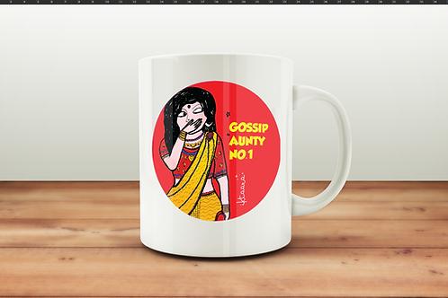 Gossip Aunty No 1 - Coffee Mug