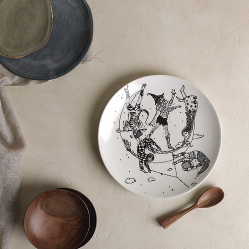 Celestial Trapeze Dinner Plate
