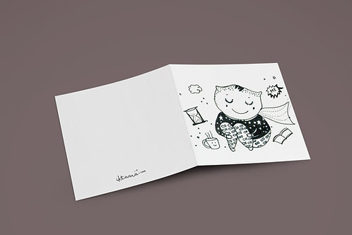 YOU ARE MY SUPER HERO - Greeting Card