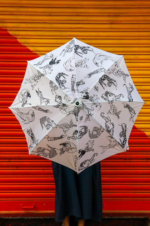 Its Raining Cats,Dogs,Stars & Magic - Umbrella