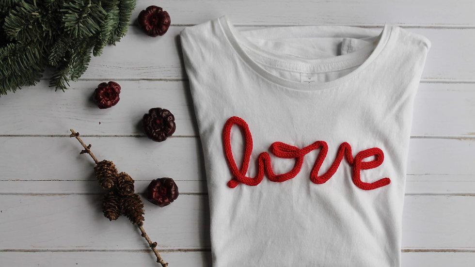 T-SHIRT Love (red)