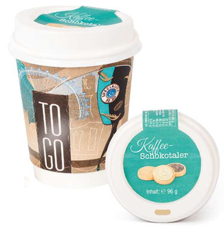 DreiMeister Takeway Cup with Coins 96g.j