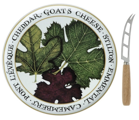 Clare Mackie Cheese Board Platter & Knife