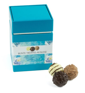 DreiMeister Turquoise Gift Box with Asso