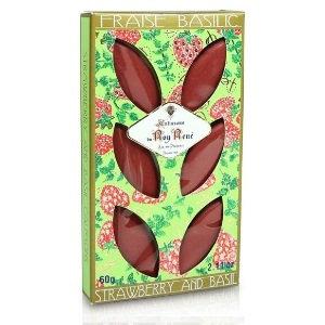Le Roy Rene Box of 6 Calisson Strawberry Basil 60g