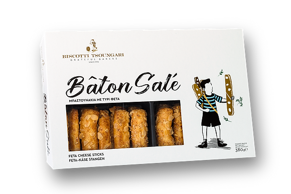 Tsoungari Baton Sale - Feta Cheese Sticks 380g