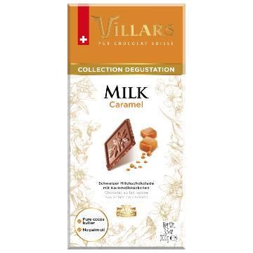 Villars Milk Chocolate with Caramel 100g