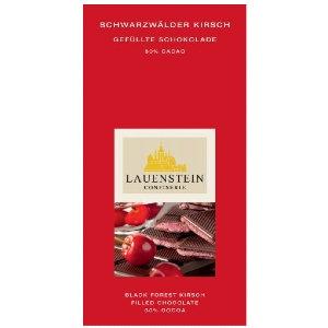 Lauenstein Dark Chocolate filled with Black Forest 80g