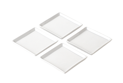 DRH Collection Set of 4 square trays | Appetitus