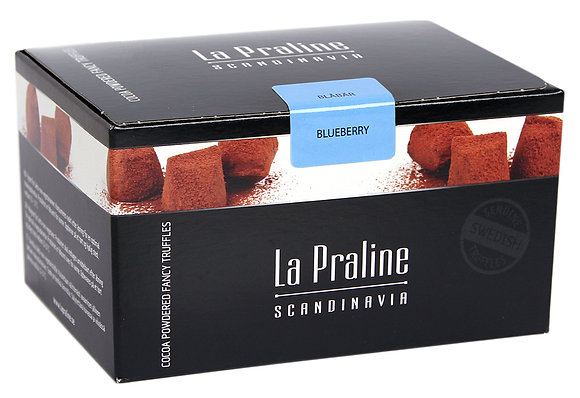 La Praline Blueberry Truffles 200g