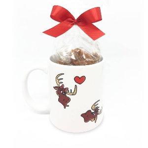 Maffren Reindeer Mug with Caramels 720g