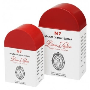 Diane de Poytiers Montelimar Nougat 100g Box