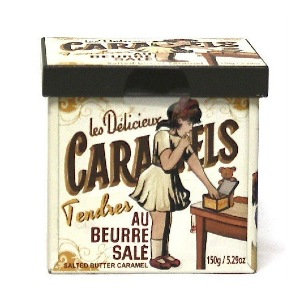 La Maison d'Armorine Salted Caramels Gift Tin 150g