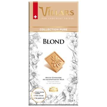 Villars Blond Chocolate Bar 100g