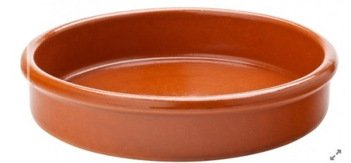 ABS Pottery Terracotta Dish - 11 cm