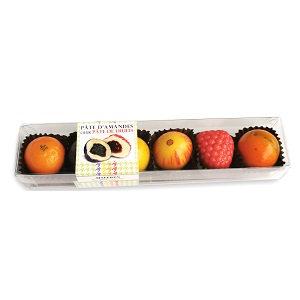 Maffren Strip Box Marzipan Fruits with Fruit Paste