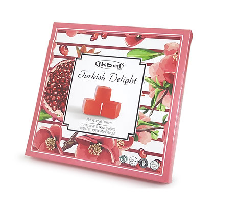 ikbal Traditional Turkish Delight with Pomegrante 400g