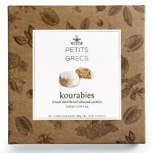 Petits Grecs Kourabies with Almonds Greek Coffee 180g Box
