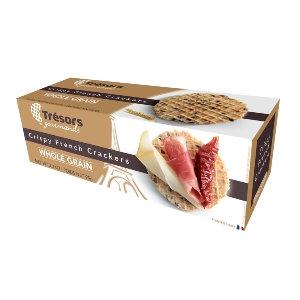 Tresors Crispy French Crackers Whole Grain 95g
