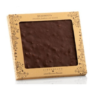 Antica Dark Chocolate Square with Whole Roasted Hazelnuts 170g