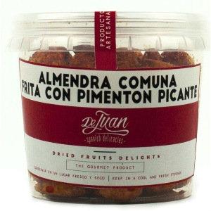 De Juan Comuna Almond Fried Spicy Paprika 120g Tub