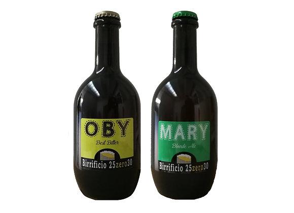 CONF. 3 BOTTIGLIE OBY + 3 BOTTIGLIE MARY