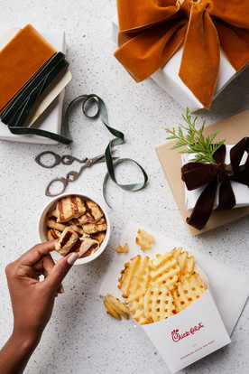 I got fries but also grilled because... the holidays.